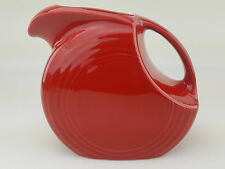 Fiesta Ware Large Disc Pitcher Scarlet Red MPN 484