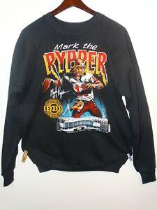 NEW_Vtg 90s Washington Redskins Mark Rypien Mark the Rypper Crewneck Sweater XL