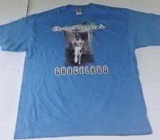 Elvis Presley Graceland Liquid Blue Licensed T-Shirt New XL