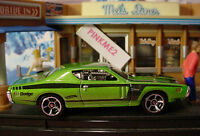 2015 Multi Pack Design Exclusive '71 DODGE CHARGER✿Green; mc5∞LOOSE∞Hot wheels