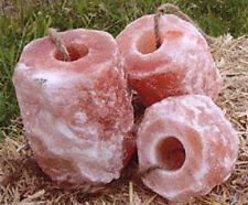 (1,65€/Kg) 3 Stück  Salzleckstein für Tiere ca 1,5 - 2 kg - Premium-Qualität