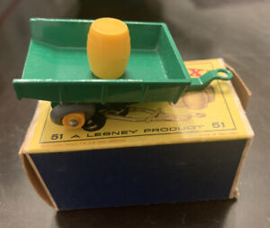 Matchbox 51 Trailer with Barrel with Original Box