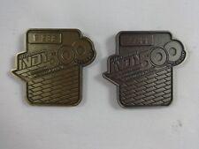 2017 Indianapolis 500 101st Running Bronze & Silver Pit Badge Takuma Sato