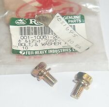 Polaris Nos Oem Pure Snowmobile Atv Bolt & Washer Ay Pack Of Two 23081645