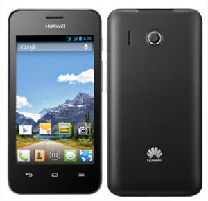 """Unlocked Huawei Ascend Y320 3G Android 4"""" 4GB ROM 2MP Original Mobile Phone"""