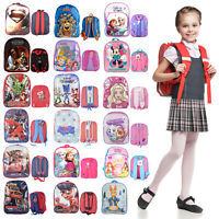 Disney Backpack For Kids Boys Girls Toddlers Character Rucksack School Lunch Bag