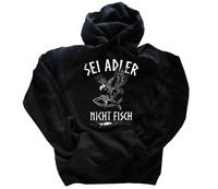 Sei Adler nicht Fisch Germanen Wikinger T-Shirt S-3XL