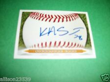 KYLE SMIT #78 SIGNED SIGNATURE CARD