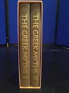 The Greek Myths Robert Graves Folio Society 10th Printing 2001 2-Vol. Set
