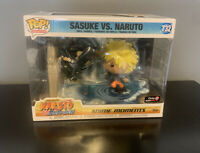 Sasuke vs Naruto Shippuden Funko POP Anime Moments #732 NEW Gamestop Exclusive
