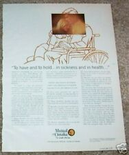 1973 ad page - Mutual of Omaha health Insurance - vintage advertising page