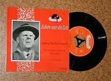 Single Ludwig Manfred Lommel Schön war die Zeit Neugebauer will verreisen