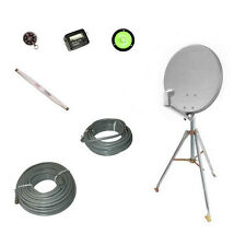 "Eagle 18"" Satellite Dish withTriPod Mount Kit RV Portable Mobile DIRECTV Camper"