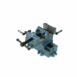 Wilton Tools WIL-11693 3 Inch Jaw Width Cross Slide Drill Press Vise, Blue