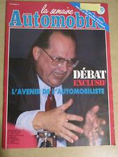 LA SEMAINE AUTOMOBILE: n°216: 01/12/1990: AUDI 100 - ALFA ROMEO 75 V6 - P-A THIB