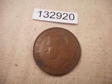 1939 Great Britain Penny - Very Nice Collector Grade Album Coin - # 132920