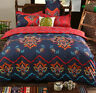 Mandala Ethnic Bedding Set Cotton Quilt Duvet Cover Set Twin Queen King Size