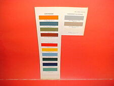 1963 1962 1961 1960 1959 1958 1957 1956 CHEVROLET CHEVY PICKUP TRUCK PAINT CHIPS