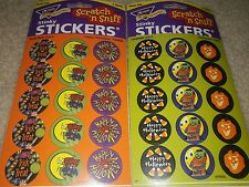 NIP 2 Sealed Packs Trend Scratch N Sniff Stickers Halloween Root Beer Licorice