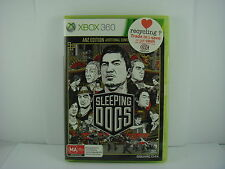 Sleeping Dogs ANZ Edition - XBOX 360 Game - (X-BOX)