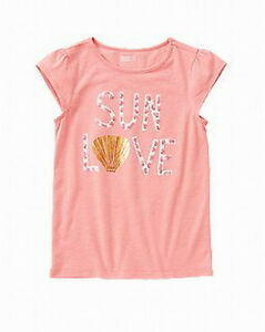Crazy 8 by Gymboree girl sparkle elephant  top tee size 7-8  10-12 14