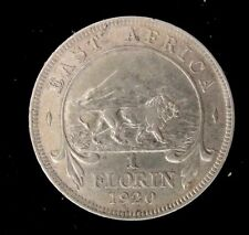 1920 H BRITTISH EAST AFRICA FLORIN SILVER COIN Looks XF