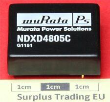 Murata NDXD4805C Isolated DC/DC converter ±5v ±750mA
