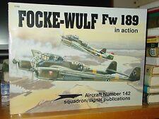 Focke-Wulf Fw 189 In Action, German Luftwaffe WWII, Color Illustrations