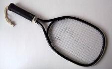 Vintage Spalding Smasher Black Metal Beam Racquetball Racquet 54-4240
