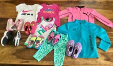 nike puma under armour toddler girls shoes clothes lot sz 3t 4t