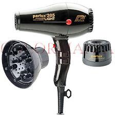 Parlux Phon Powerlight Ionic & Cramic 385 Nero Calenda Prodotti per Capelli