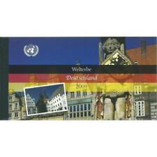 2009 O.N.U. ONU VIENNA UNESCO GERMANIA LIBRETTO PRESTIGE MF26877