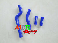 silicone radiator hose for 2002-2008 Yamaha YZ250 blue