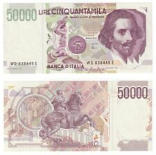More details for  italy 50,000 lire banknote (1992) p.116c - unc.