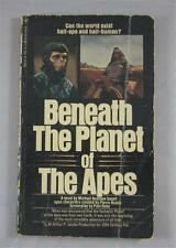 BENEATH THE PLANET OF THE APES MICHAEL AVALLONE 1974 BANTAM PAPERBACK PB MOVIE