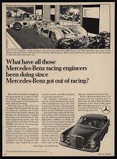 1968 MERCEDES-BENZ 250E Luxury Sedan - Car - Daimler- Benz Museum VINTAGE AD