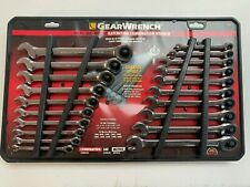 GearWrench 20-Piece Ratcheting Wrench Set, SAE and Metric 35720