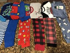Boys Size 10 Pajamas Lot