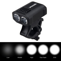 USB 2000mAH Rechargeable Bike Headlight LED Bicycle Front Head Light Cycling
