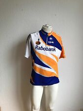 Vintage team rabobank rueda-camiseta agu talla L uci pro tour Cycling-Jersey bicicleta