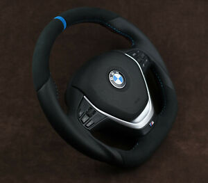 Bmw custom steering wheel flat bottom M Sport Performance F30 F31 F20 F22 F23