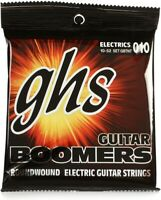 GHS GBTNT Guitar Boomers Electric Guitar Strings - .010... (8-pack) Value Bundle