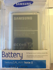 batteria per galaxy note 2 N7100 N7105 EB595675LUCSTD IN BLISTER SAMSUNG GENUINE