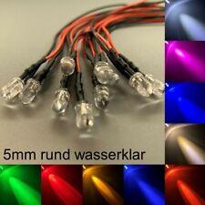 verkabelt 5mm LEDs rund wasserklar alle Farben 5 mm LED Widerstände