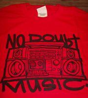 RETRO NO DOUBT BOOM BOX MUSIC Band T-Shirt XL NEW Gwen Stefani