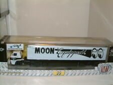 1/64 1969 DODGE L600 TRUCK & TRAILER INC 69 CHARGER DAYTONA, `MOON EQUIPPED` M2