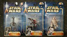 Star Wars Star Tours (Blue Card) Set of 3 Action Figures
