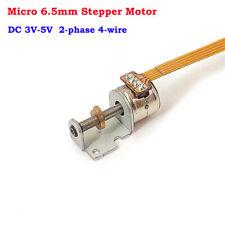 Dc 3v 5v 2 Phase 4 Wire Mini 65mm Stepper Motor Linear Screw Slider Block Nut