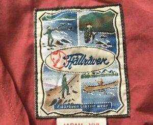 Vintage Fjallraven Fishing Vest Men's Size XL Burgundy Utility Waistcoat Gilet