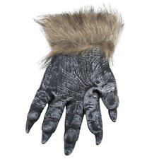 Halloween Werewolf Ghost Hairy Gloves Cosplay Simulation Wolf Claw Mittens 6A